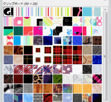 GIMPパターンの使い方