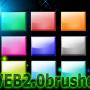 オリジナルブラシ~WEB2.0ボタン~