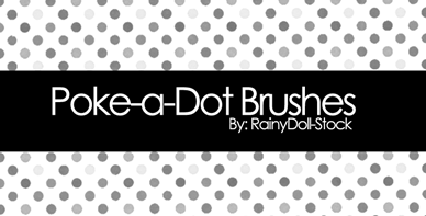 poke_a_dot_brushes_by_rainydoll_stock