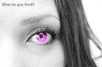 瞳の色を変える方法